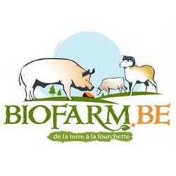 Lard Frais tranché Biofarm...