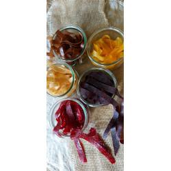 Lacets cuirs de fruits -...