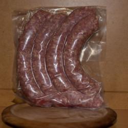 Saucisse porc/boeuf 500gr -...
