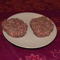 Hamburger de Boeuf par deux...