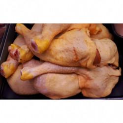 Cuisse de poulet jaune de...